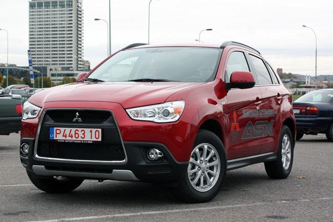Mitsubishi asx kainos